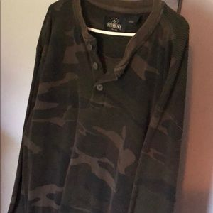 Camouflage Thermal Shirt